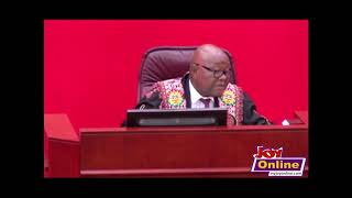 Speaker of Parliament forced to suspend Tuesday's sitting because house lacked quorum
