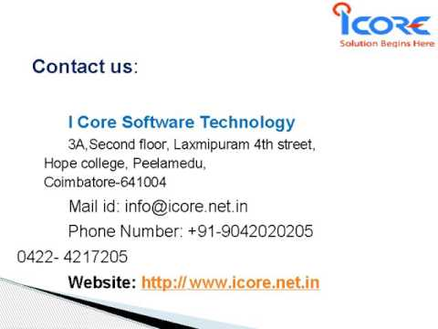 I core Software Technologies   Web designing & development, Seo Services coimbatore