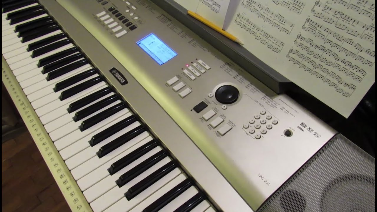 Yamaha YPG-235 Discontinued, What's Next?