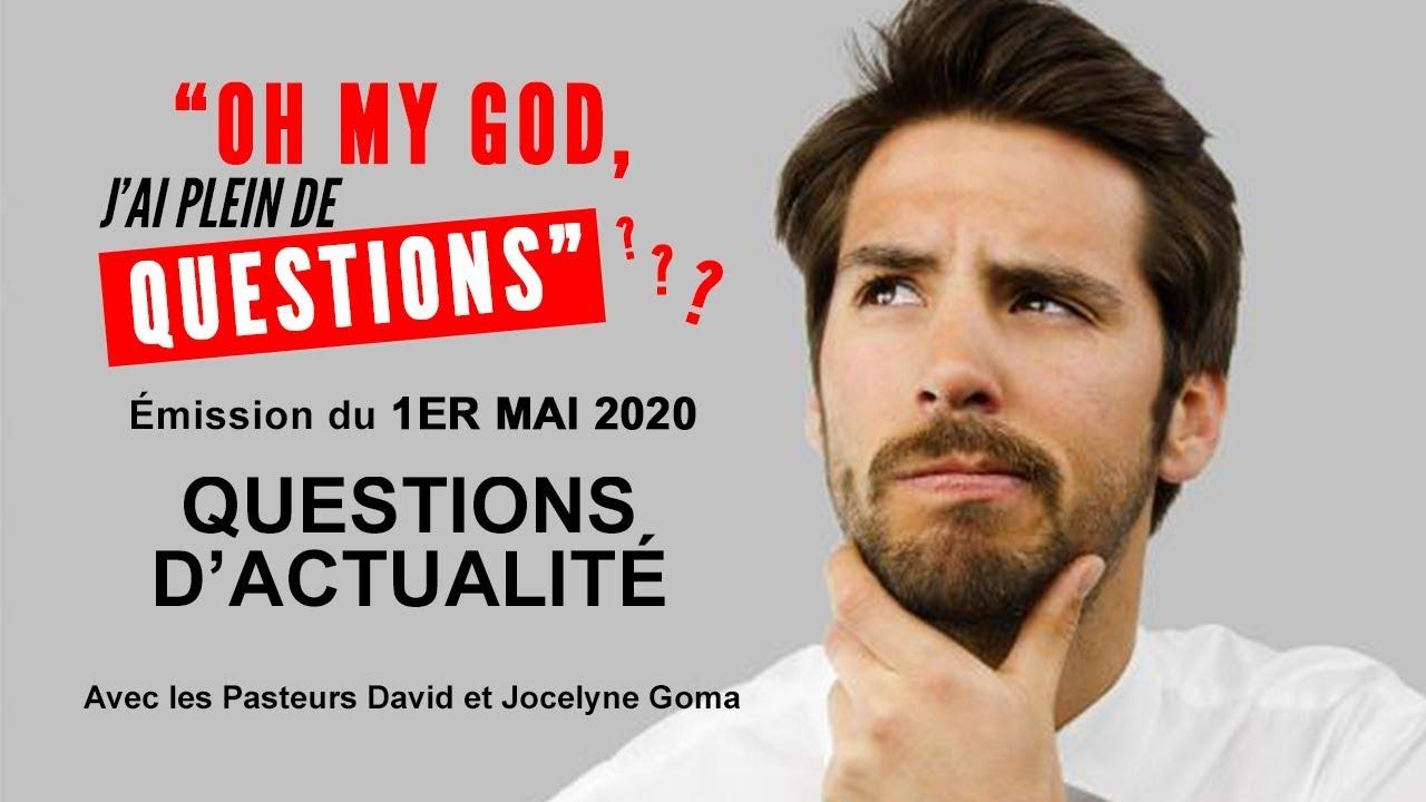 Questions d'actualité [1er mai 2020]