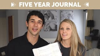 Christian Gift Idea - A Christian's Five Year Journal, Daily Christian Journal Prompts