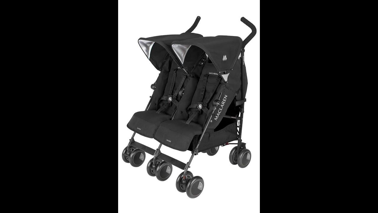 Maclaren Twin Techno Stroller Maclaren Double Stroller Review