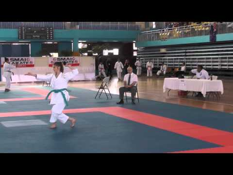2014 Sept 16th Oceania Fiji Cadet Female kata Reilly Chatanyara