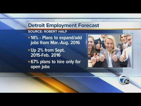 Report: Detroit CFOs expect hiring to increase in the next 6 months for professional-level jobs