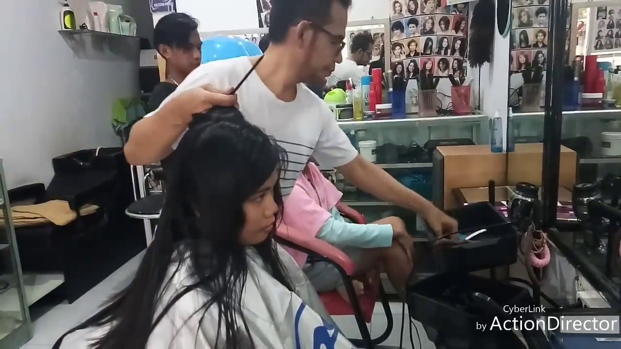 Long hair becomes a short bob - YouTube 6b804d4e01
