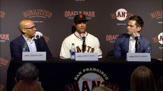 SF Giants Welcome New Manager