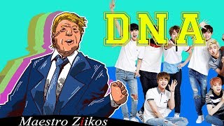 BTS (방탄소년단) 'DNA' Cover by Donald Trump