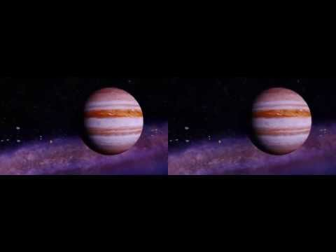 3D The Universe 7 Wonders Of The Solar System 3D SBS Side By Side [CARDBOARD 3D]