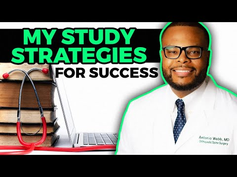 Study Strategies that I used to do WELL in Medical School!