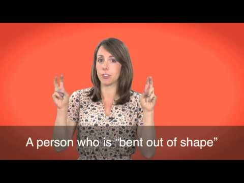 English in a Minute: Bent out of Shape
