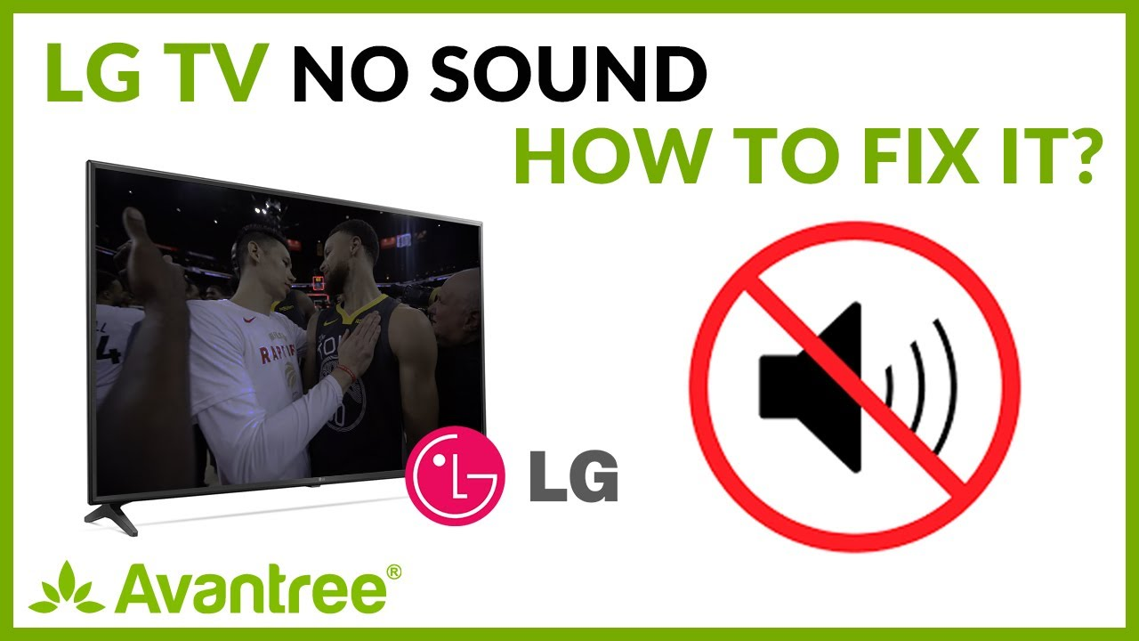 Lg Tv No Sound How To Fix Youtube