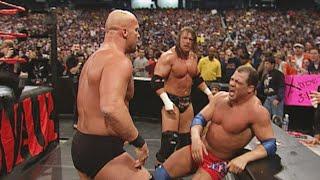 """The Rock & Kurt Angle vs. """"Stone Cold"""" Steve Austin & Triple H: Raw, February, 5, 2001"""