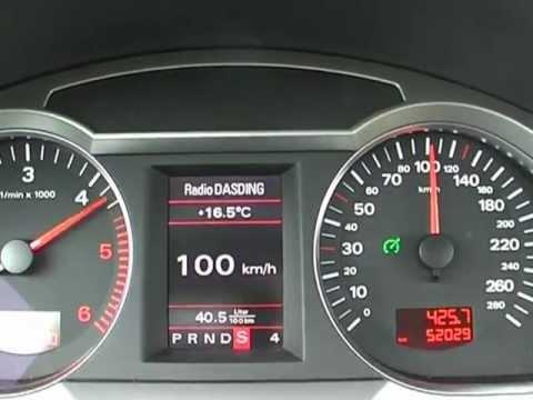 Audi A6 4f Avant 2 7tdi 180hp V6 Tdi Multitronic 0 100 Km