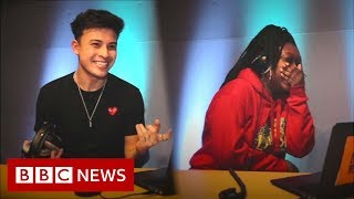 Young voters react to Facebook political ads - BBC News