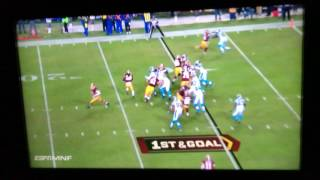 Panthers @Redskins Huge Fight Jordan Reed Threw Punch at Panther Defender Gets Ejected From the Game