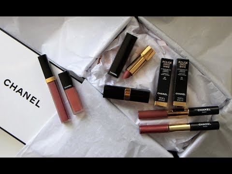 CHANEL Must Have Lipsticks | DreDreDoesMakeup