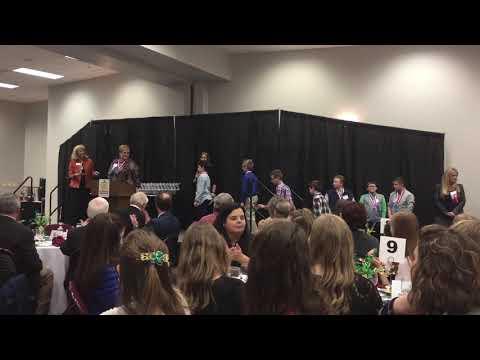 Stock Market Game Awards Luncheon - Sheridan Intermediate School 1/10/18
