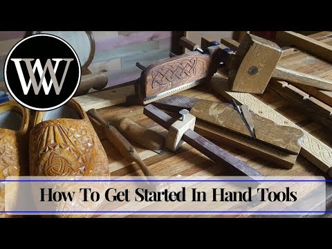 How I Got Started in Hand Tool Woodworking And First Projects for the Beginner