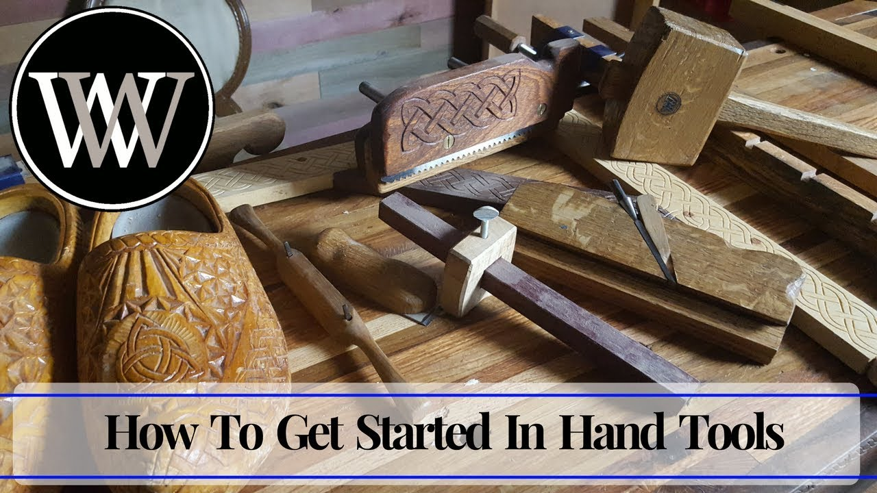 How I Got Started In Hand Tool Woodworking And First Projects For