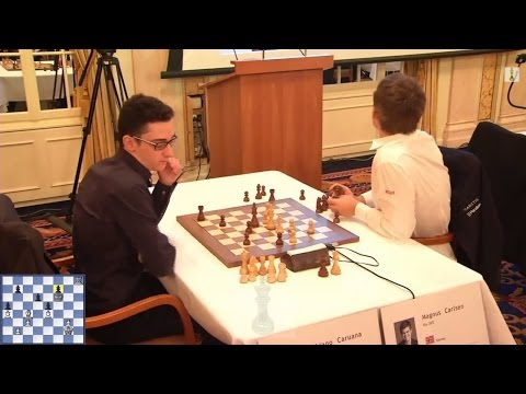♚ GM Magnus Carlsen vs GM Fabiano Caruana ⏲ Chess Blitz Matc