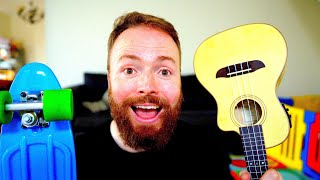 WHAT IF POWER OF LOVE BY HUEY LEWIS & THE NEWS WAS PLAYED ON A UKULELE AND RECORDED ON AN IPHONE?