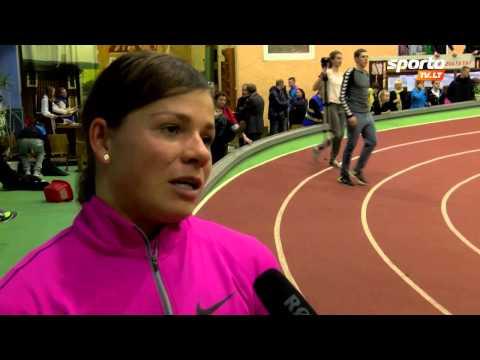 SportoTV.lt: Lina Grinčikaitė: Svarbiausi startai dar tik laukia