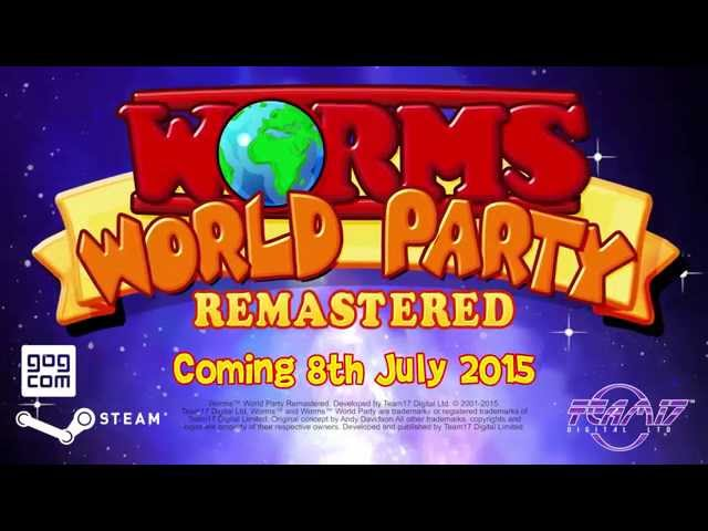 Worms World Party Remastered (видео)