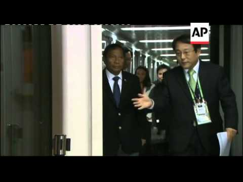 India's PM, Philippines VP arrive ahead of Nuclear Security Summit