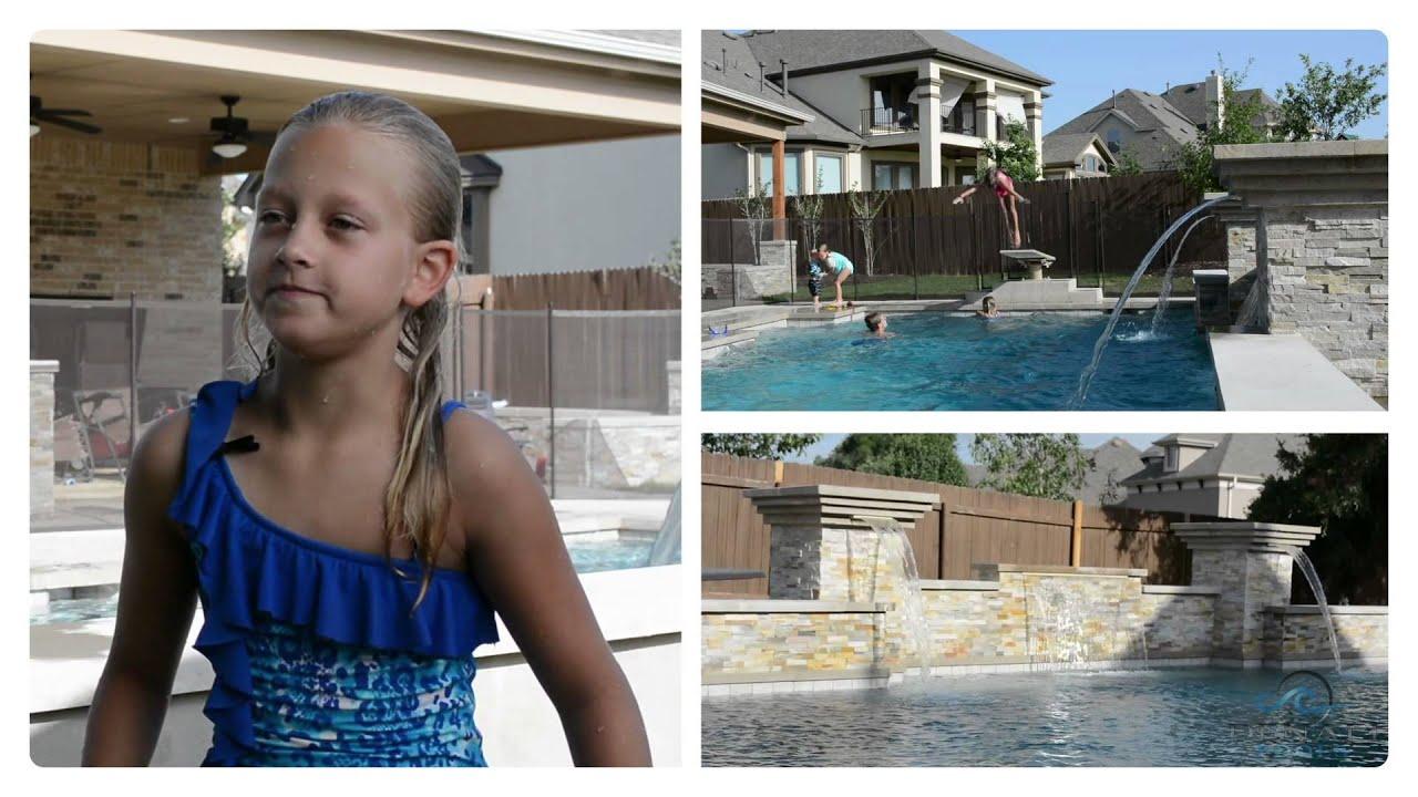 Custom Swimming Pool Builder Austin Tx Denali Pools Construction Leander Round Rock Cedar Park Georgetown In Texas