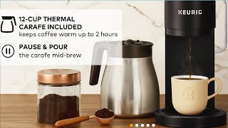 Keurig K Duo Plus Coffee Maker, Single Serve and 12 Cup Carafe Drip Coffee Brewer Tested & Review