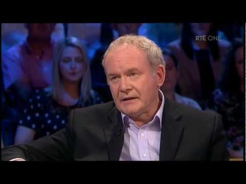 Martin McGuinness | Talks about meeting the Queen | Saturday Night with Miriam