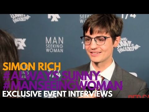 Simon Rich at the FXX Premiere for Man Seeking Woman Season 3