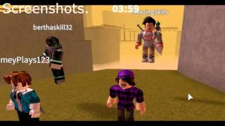 Hacker in ROBLOX Deathrun