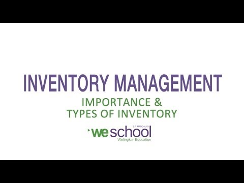 Why Is Inventory Important for a Business?