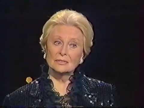 Michèle Morgan rend hommage à Jean Marais