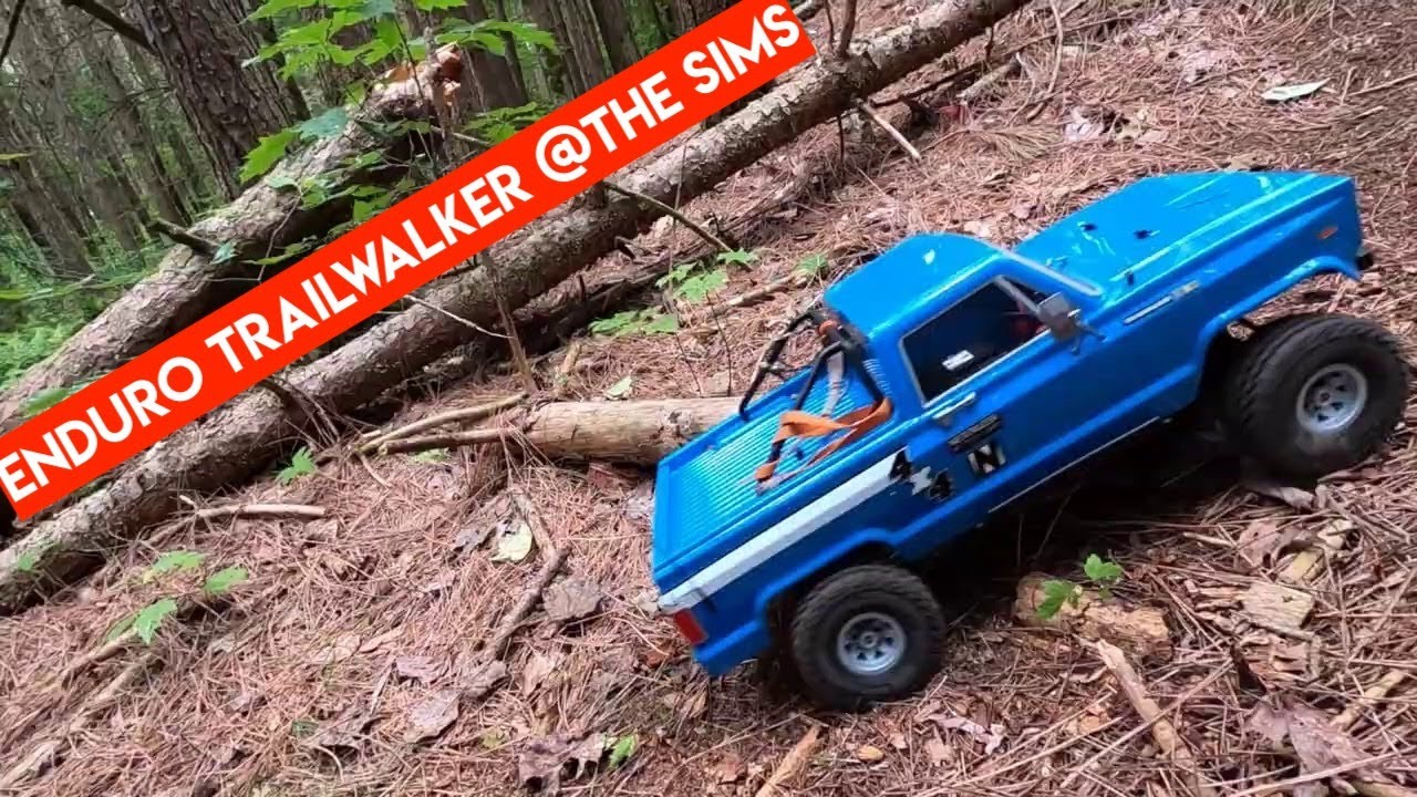 Enduro TrailWalker First Run at The SIMS Crawler Course - Netcruzer RC + @The Tank RC