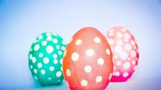 Пасхальные Яйца. Как оригинально покрасить яйца на Пасху.