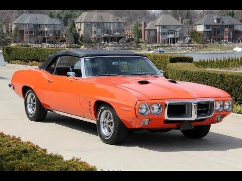 1969 Pontiac Firebird Convertible For Sale Youtube