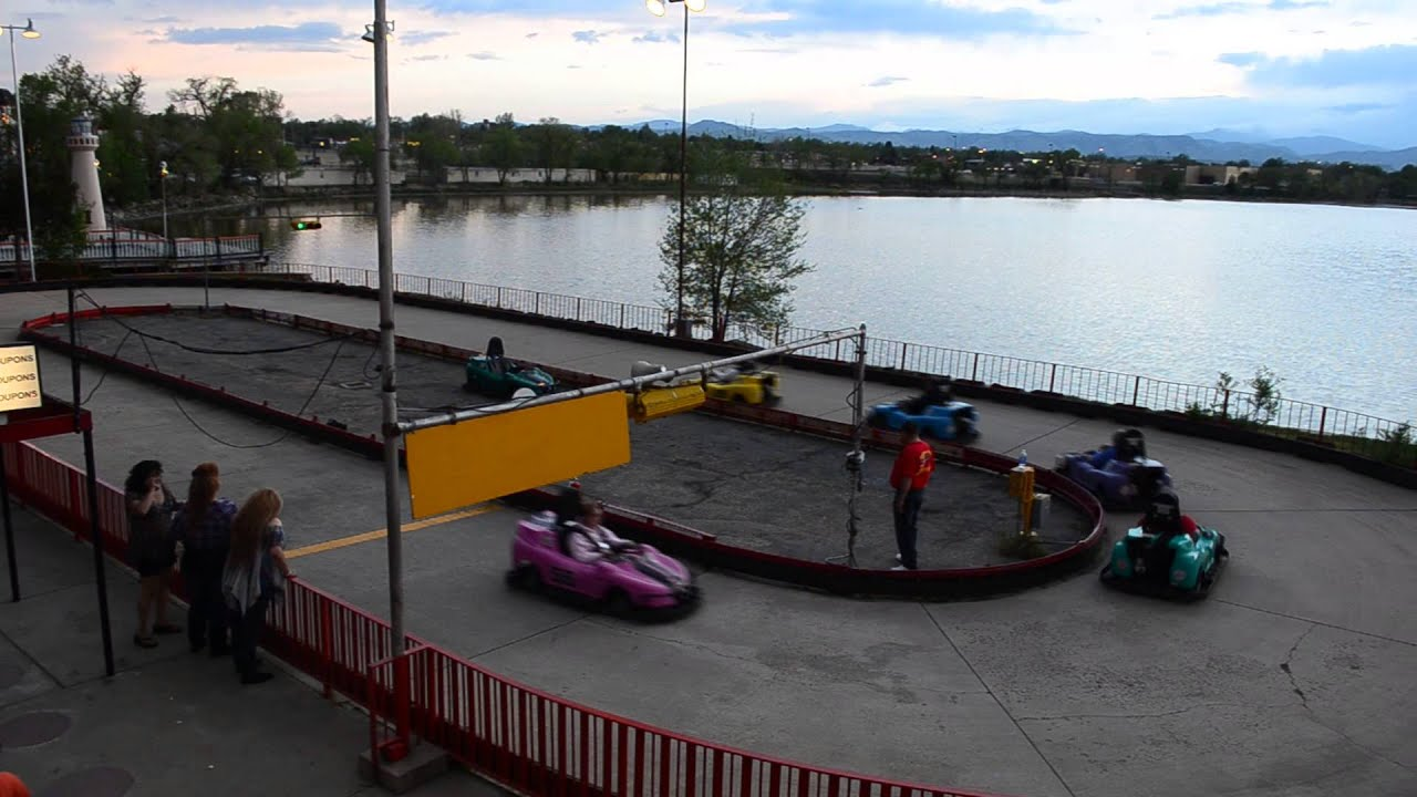 Go Car Denver: Sports Car Go Kart Racing At Lakeside Amusement Park