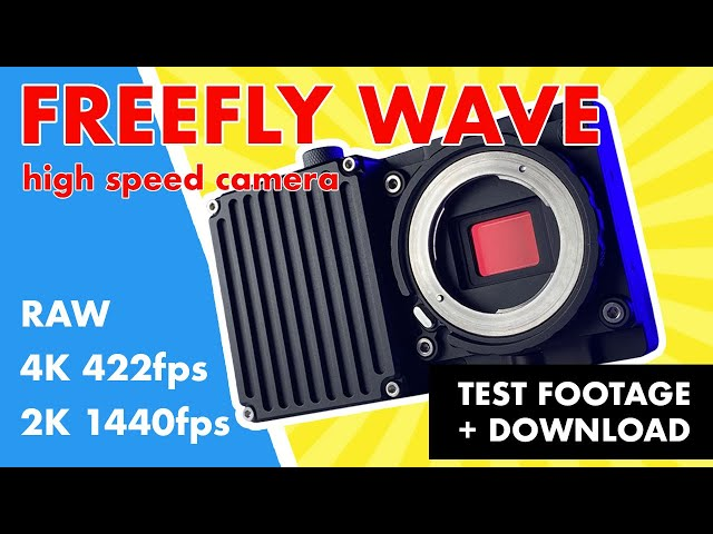 Freefly WAVE Camera | Slowmo footage & download