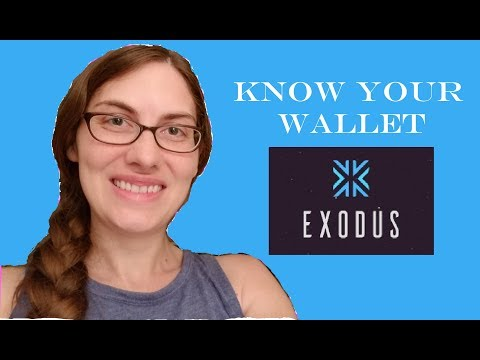 Know Your Wallets Episode 1: Exodus Wallet