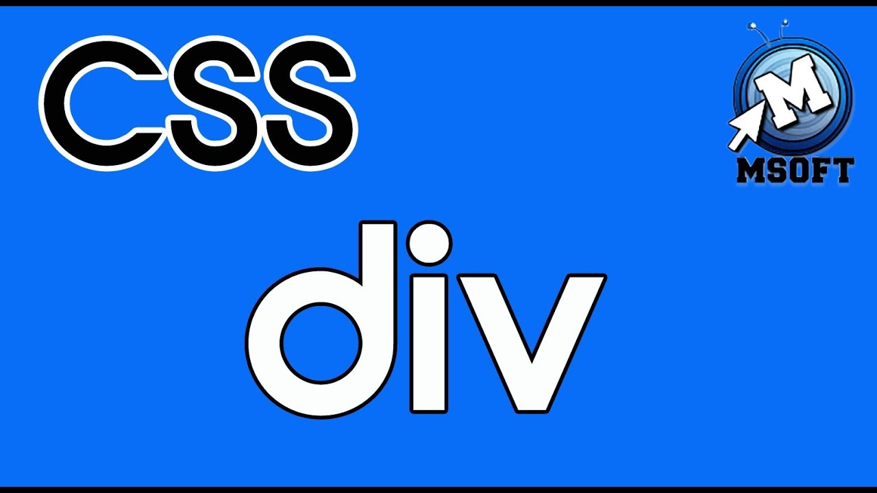 7 css div id et class msoft darija viyoutube for Html div class
