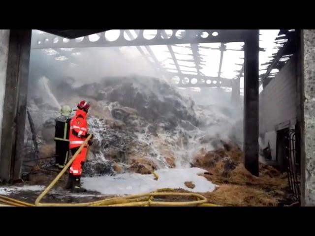 Registrado un incendio en la parroquia silledense de Regalade