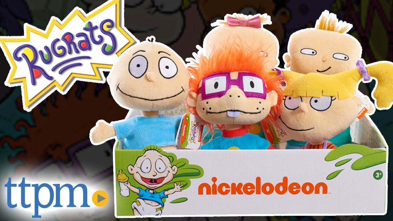 Nicktoons Rugrats Chuckie Plush