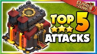 TOP 5 BEST TH10 Attack Strategies in Clash of Clans!