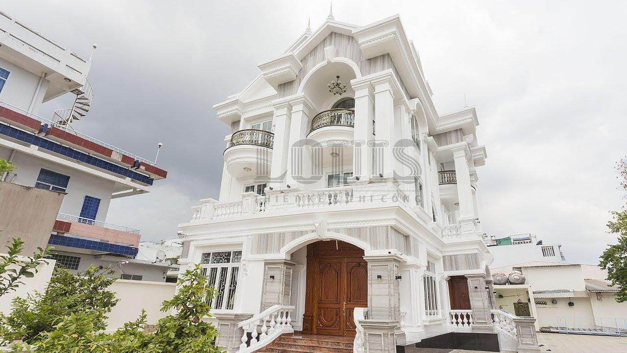 Hoàn thiện dự án thiết kế và xây dựng biệt thự 3 tầng phong cách tân cổ điển tại Tân Phú