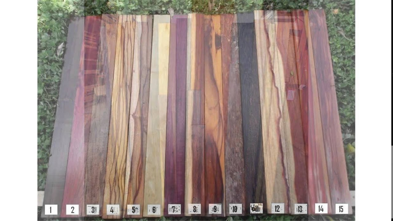 Exotic hardwood lumber youtube