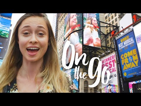Maria Checks Out Times Square & The Empire State Building – On The Go With EF #68