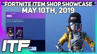 Fortnite Item Shop ROBOT SKINS ARE BACK! [May 10th, 2019] (Fortnite Battle Royale)