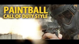 EPIC PAINTBALL BATTLE - Call of duty Style (4K)